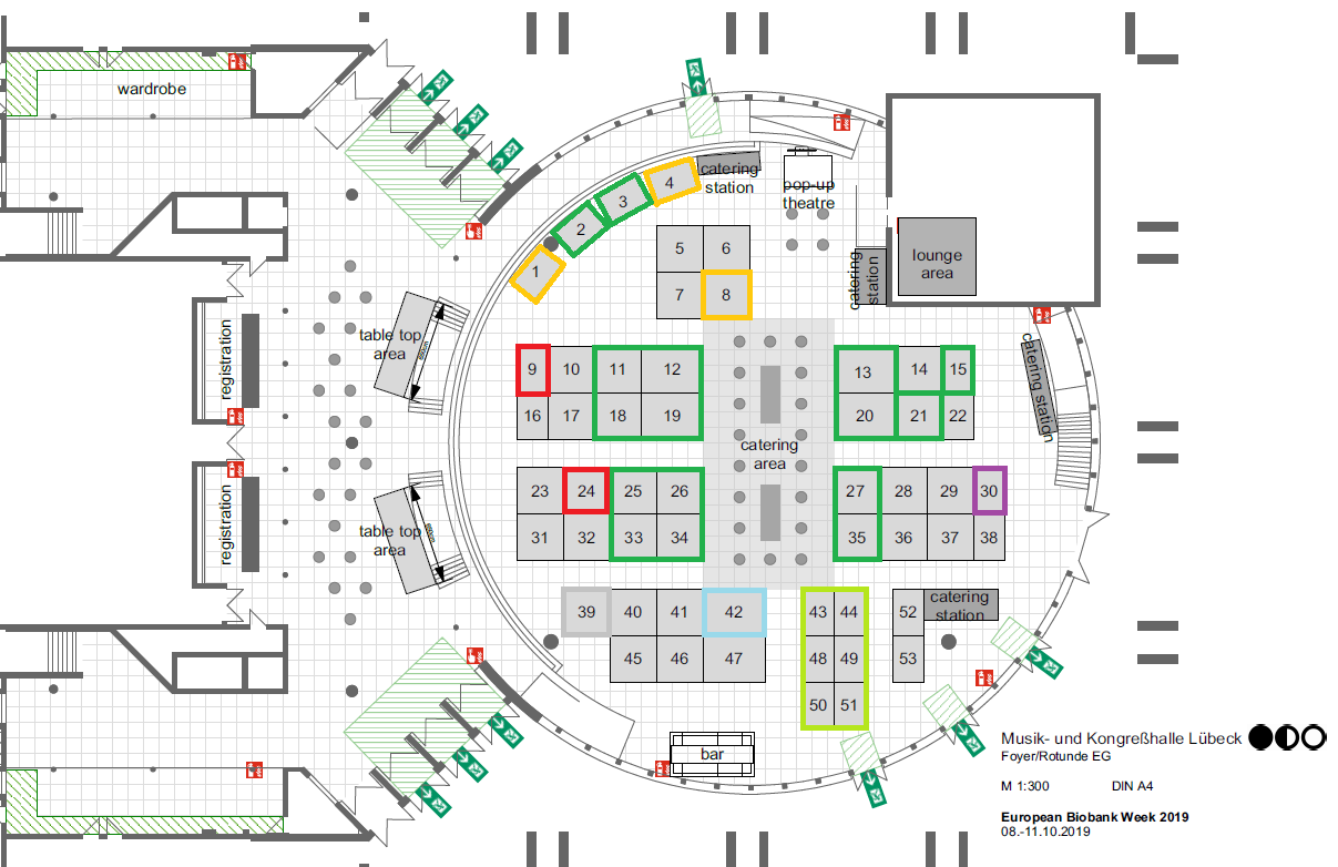 Exhibition Floorplan – EBW congress